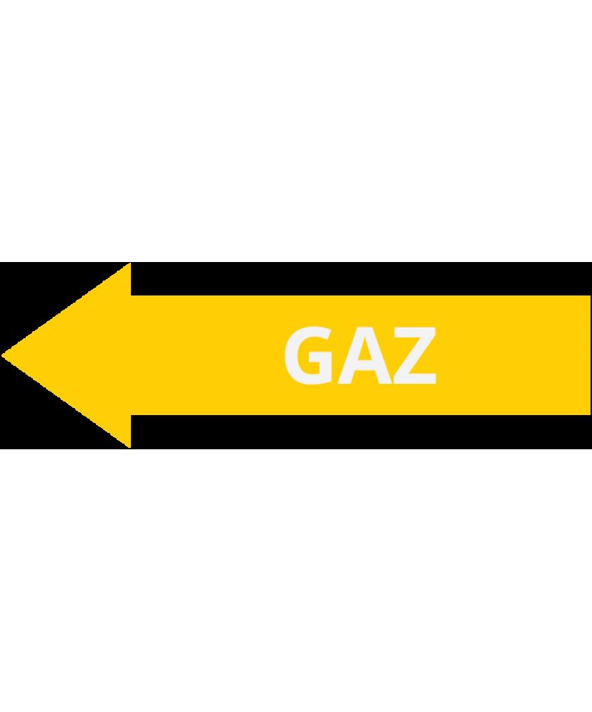 Gaz lewo
