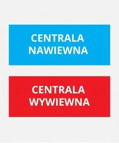 Etykiety do central wentylacyjnych